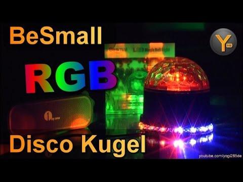 BeSmall RGB LED Disco Kugel