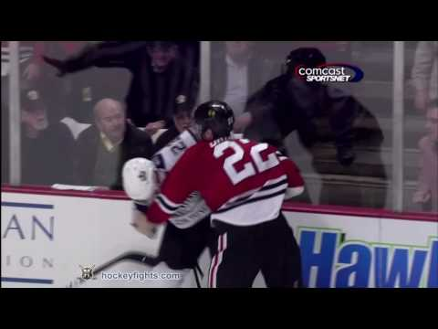 Troy Brouwer vs. Dustin Brown