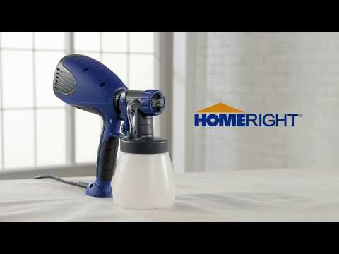 HomeRight Quick Finish Paint Sprayer Video