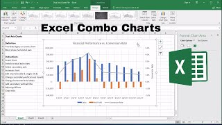 Excel Combo Chart: How to Add a Secondary Axis