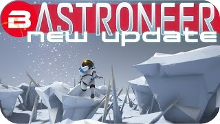 Astroneer Gameplay - NEW UPDATE: FREE MOON DRILLING POWER! Lets Play Astroneer Experimental
