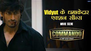 Vidyut's Action Scenes   Commando   Movie Scene   Vidyut Jammwal, Pooja Chopra   Dilip Ghosh