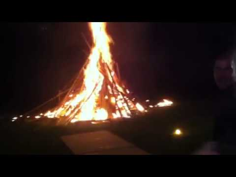 Dumbest, Most Awesome Way To Light A Bonfire