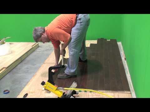 Powernail 445FS PowerStapler Roller Demonstration