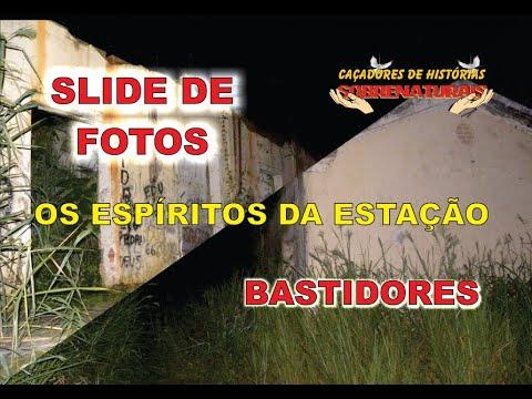 SLIDE DE FOTOS + BASTIDORES - OS ESPÍRITOS DA ESRAÇÃO