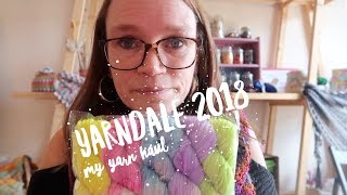 My Name's Claire And I'm A YARNAHOLIC!!   Yarndale Haul 2018