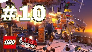 The LEGO Movie Videogame Walkthrough - Level 10: Infiltrate The Octan Tower!