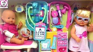 ❀ Видео с куклой Пупсик набор доктора Ненуко Игрушки для девочек Nenuco Baby Doll