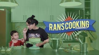Strawberry Vanila Cake ala Mama Gigi #RANSCOOKING
