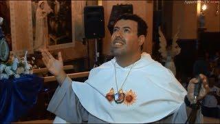 Vídeo - 18-03-2018   Aparição de Nossa Senhora e Santa Bernadette ao vidente Marcos Tadeu