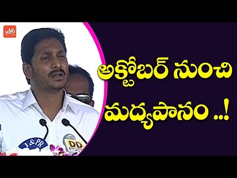 Ap Cm Ys Jagan About Decission on Liquor Ban