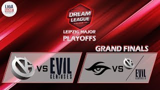 [DOTA 2] Team Secret VS Evil Geniuses - GRAND FINAL (BO5) - Dreamleague S13 : The Leipzig Major