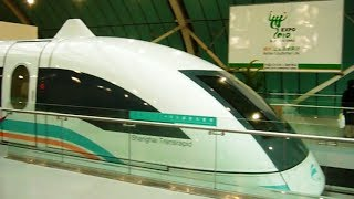 preview picture of video 'Shanghai Maglev Journey at 300km/h'