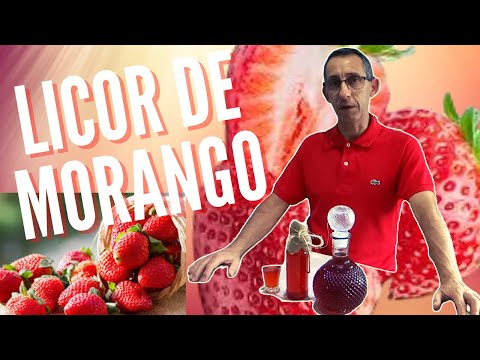 Licor de Morango - rec 4