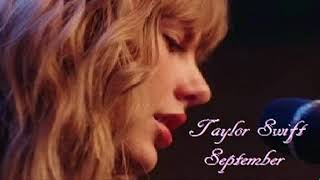 Taylor Swift - September (Audio Tracking Room Nashville) Teases Return To Country