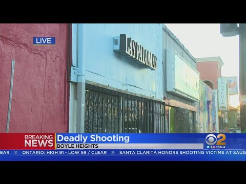 Man Dead, Another Wounded After Boyle Heights Bar Fight Turns Into Shooting