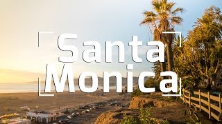 Where is santa monica in california