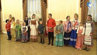 В Великом Новгороде открылась Российская детская фольклорная ассамблея