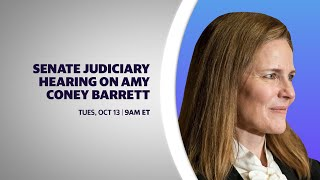 Supreme Court nomination hearings for Amy Coney Barrett: Day 2