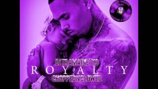 Chris Brown- Zero (Chopped & Slowed By DJ Tramaine713)