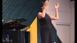 """William Bolcom's """"Toothbrush Time"""" sung by ANDREA HUBER"""