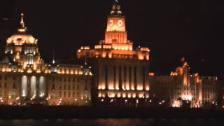 Video : China : Cruising the HuangPu River in ShangHai 上海 at night