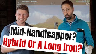 Should A Mid-Handicap Golfer Use A Hybrid Or Long Iron?