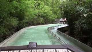 preview picture of video 'Dragon Falls (POV) Chessington World of Adventures'