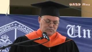 preview picture of video 'Graduación 12 de Julio 2014, UASD MAO.'