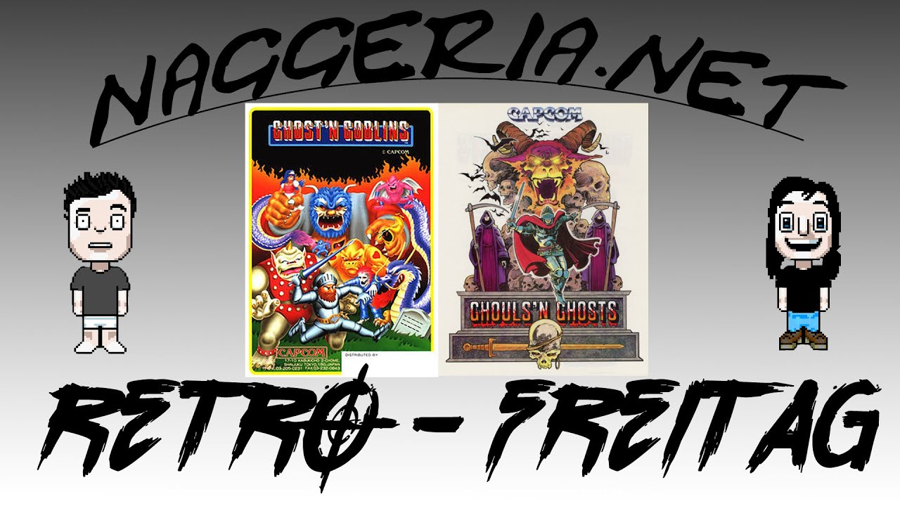 [Retro-Freitag] Ghosts 'n Goblins 'n Ghouls 'n Ghosts (Arcade / NES)