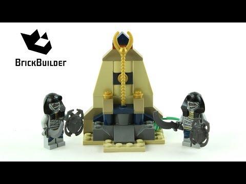 Vidéo LEGO Pharaoh's Quest 7306 : Les gardiens du sceptre d'or
