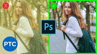 Remove ANY Color Cast FAST & EASY In Photoshop - 90-Second Tip #08