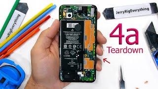 Google Pixel 4a Teardown - its a tricky little guy