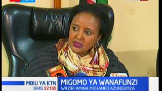 Cancellation of last year's KCSE results cause of current schools fires, says CS Amina