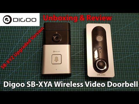 Digoo SB-XYA Wireless Video Doorbell - Unboxing, Review & Setup