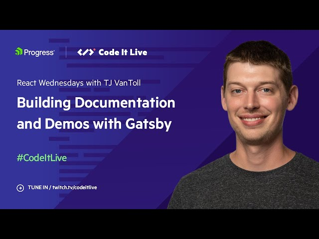Building Gatsby Documentation and Demos with Kiril Peyanski