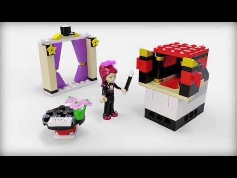 Vidéo LEGO Friends 41001 : Mia et ses tours de magie