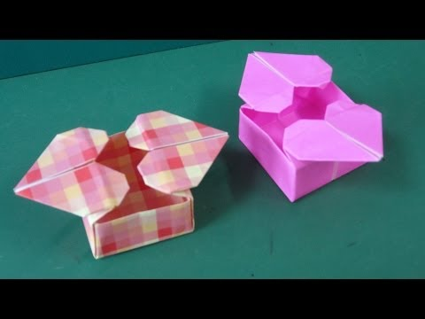 TUTORIAL - How to make an Origami Heart Box - YouTube | Origami ... | 360x480