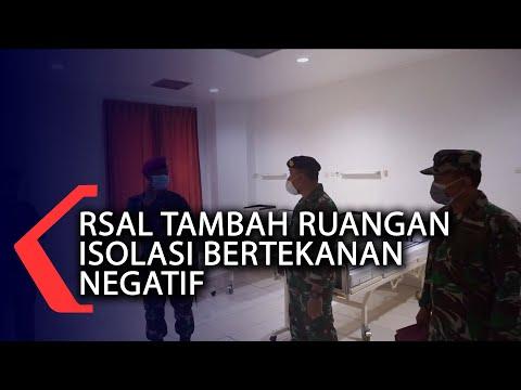 RSAL Tambah Ruangan Isolasi Bertekanan Negatif