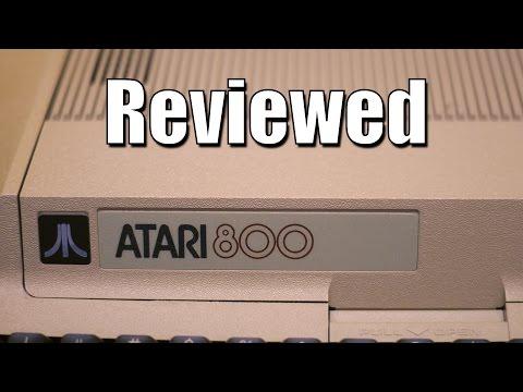 Atari 800 Computer Review