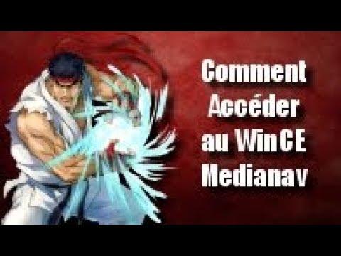 Comment Accéder à votre Windows CE Medianav v. 406-603MD-705MD-603-604-705-805