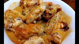 Cooking Baked Smothered Chicken Wings!