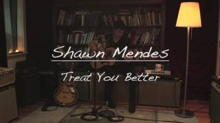 """Shawn Mendes """"Treat You Better"""" Acoustic"""