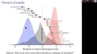 "Pablo Barbera, ""Ideal Point Estimation Using Twitter Data"""