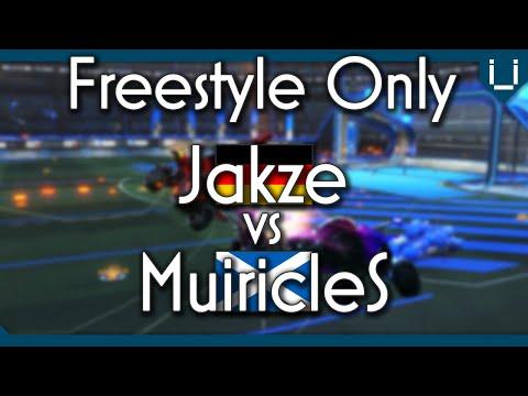 MuiricleS vs Jakze | Freestyle 1v1 | Rocket League