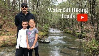 Waterfall Hiking Trails.. Lake Catherine State Park Hot Springs Arkansas