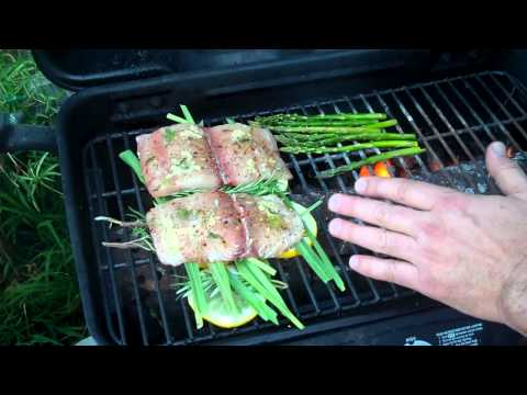 Video Grill Fish & Veggies | How to Grill Healthy Grilling Fish & Veggies Expert Advice!