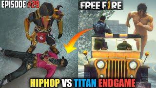 GTA X FREEFIRE : HIP HOP BUNDLE VS TITAN ENDGAME