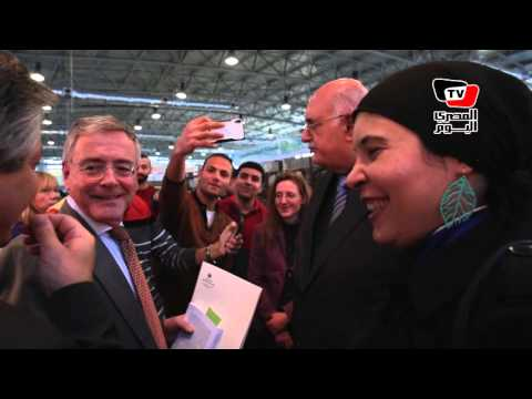 السفير الألماني يفتتح جناح بلاده بمعرض الكتاب