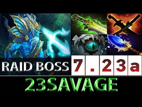 23savage [Morphling] Very Scary Raid Boss Carry ► Dota 2 7.23a